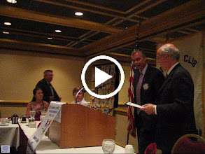 Video: Assistant District Governor Mark Presenting Foundation Award To Joe and Frank - August 5, 2008