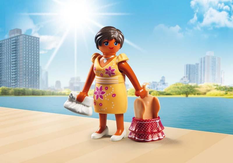 Contenido real de Playmobil® 6882 Moda Verano