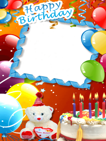 Birthday Card Photo Editor