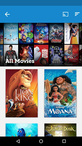 Disney Movies Anywhere screenshot 1