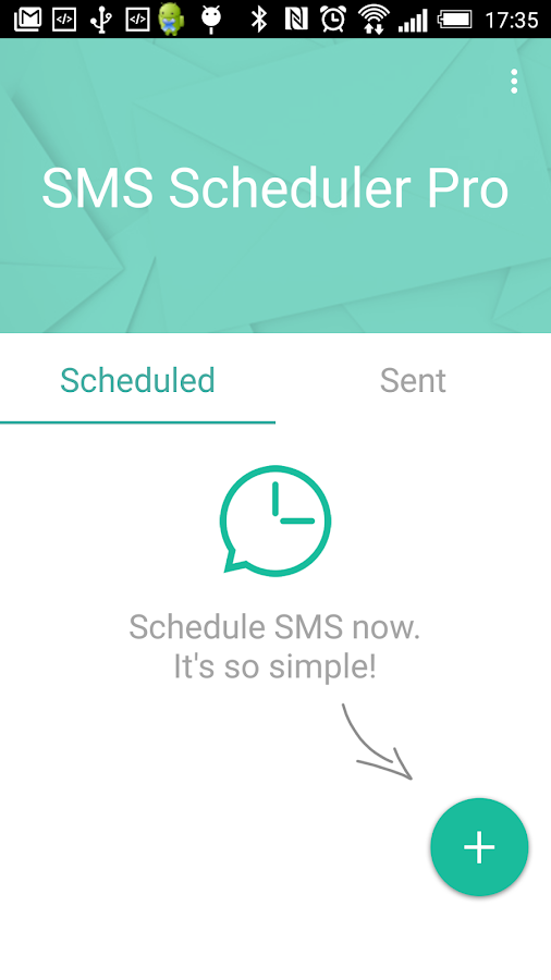 Sms-Scheduler Pro- screenshot