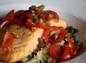 Salmon Sorrento Recipe