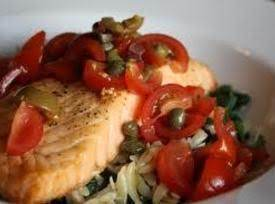 Salmon Sorrento Recipe
