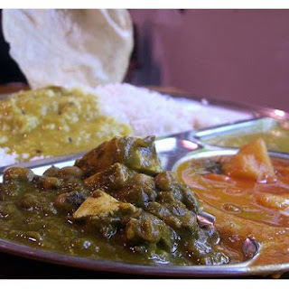 Indian Curried Vegetables.