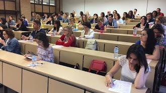 Prueba selectiva realizada en la Universidad de Almería.