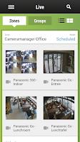 Screenshot of Cameramanager