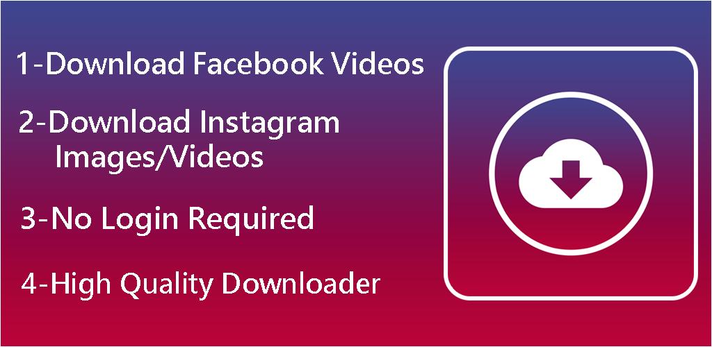 Download Downloader For Facebook & Instagram -Social Studio