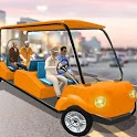 Smart Taxi Car Driving Simulator : City Taxi Games icon