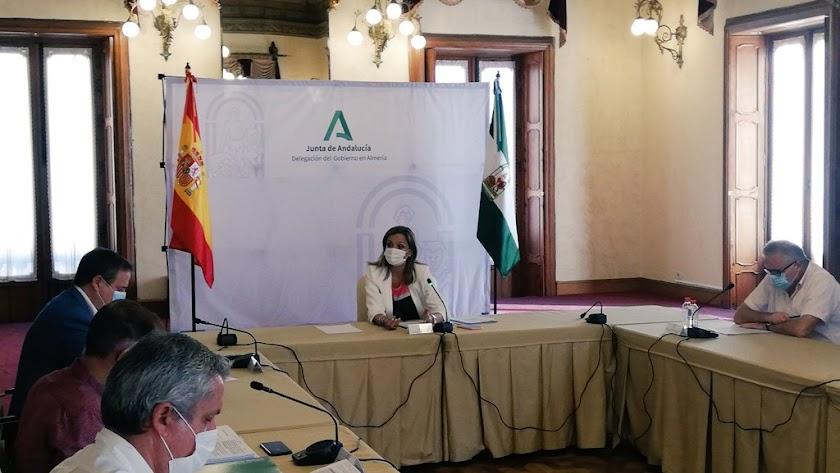 Reunión de delegados de la Junta.