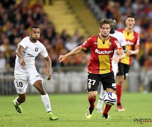 Guillaume Gillet qualifie Lens lors des barrages pour la montée en Ligue 1