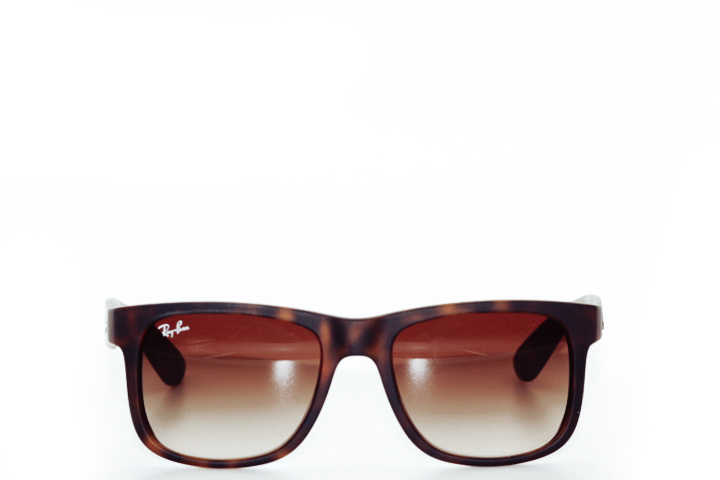Ray Ban Justin Brown Mat Gradient