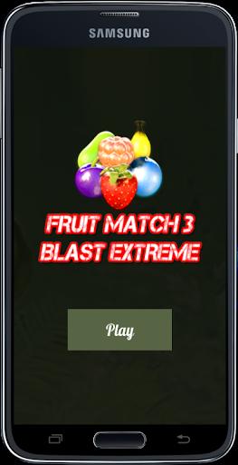 Fruit Match 3 Blast Extreme