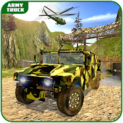 Army Truck Driving Simulator: Army off road Driver