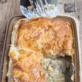 Leek And Mushroom Pie Vegetarian Recipes.