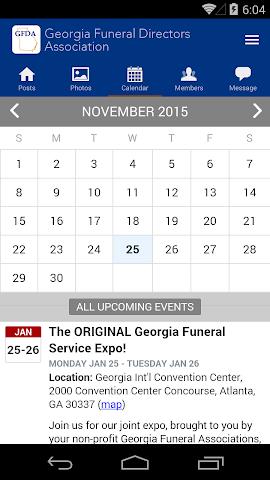 android Georgia Funeral Directors Assc Screenshot 2