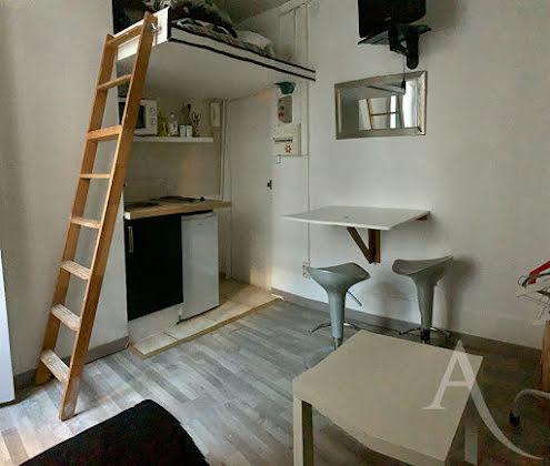 Location studio meublé 13 m2