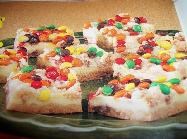 Candy - Topped Bars Recipe