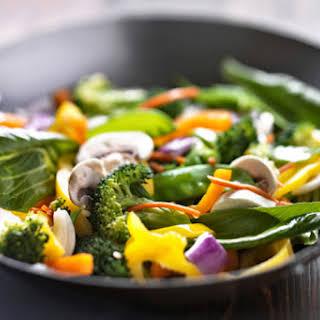 Asian Vegetable Stir-Fry.
