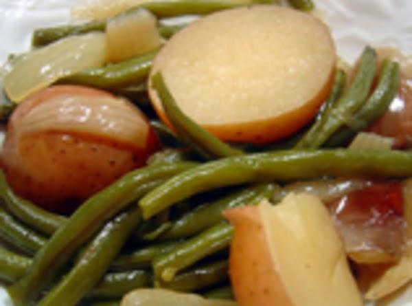 Green Beans,ham, And New Potatoes Recipe