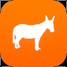 Donkey Republic bike rental icon