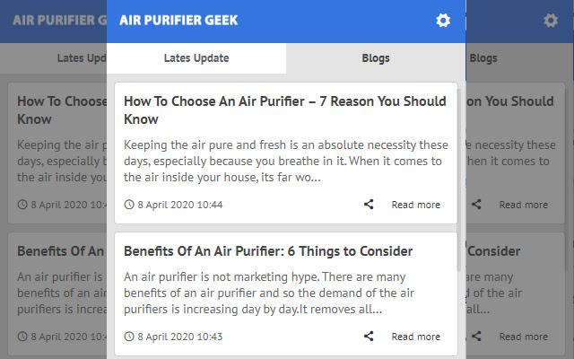 Air Purifier Geek - Latest News Update
