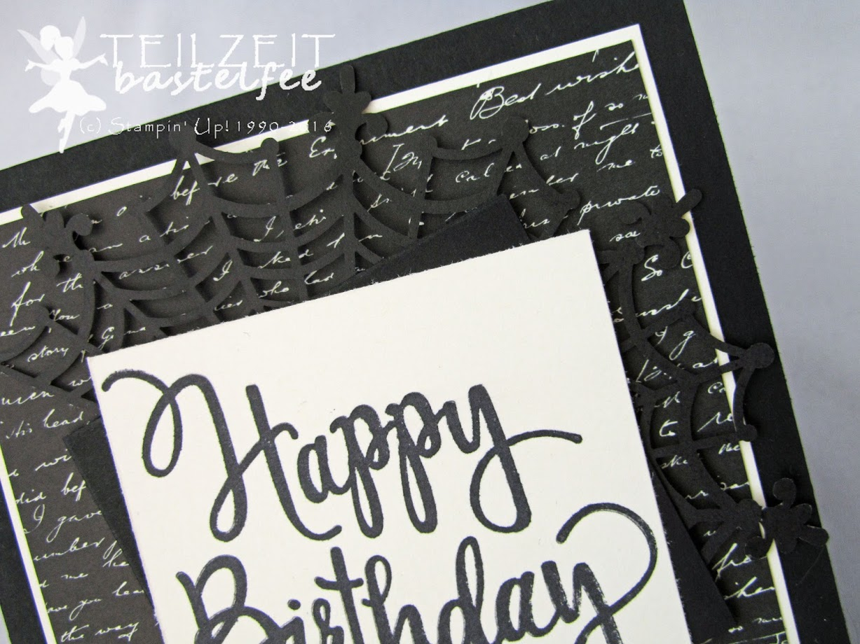 Stampin' Up! - Stylized Birthday, male card, Geburtstag, Männerkarte