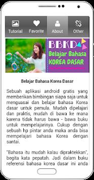 Download Belajar Bahasa Korea Dasar Untuk Pemula Apk Latest Version