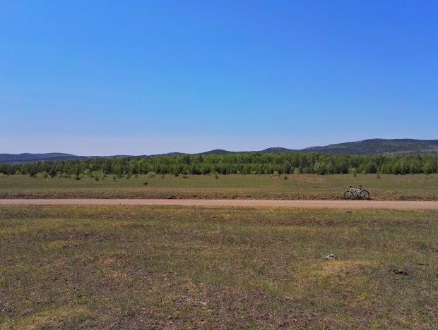 Путешествие выходного дня на велосипеде по Читинскому району Забайкальского края