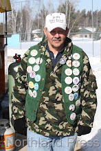 Photo: Don Wallin shows off all the Nisswa