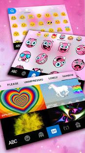 Pink Minny Bow Keyboard Theme