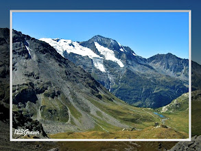 Photo: Mont Pourri depuis le Rocher Blanc