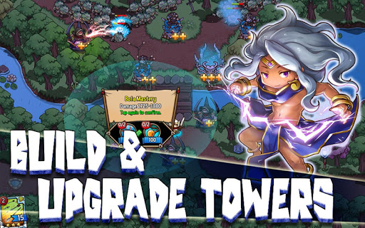 Crazy Defense Heroes: Tower Defense Strategy TD 1.9.9 screenshots 11