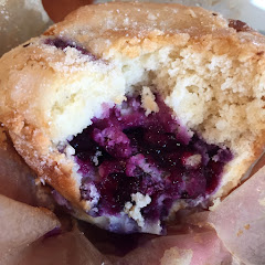Sweetah's gluten free blueberry muffin.