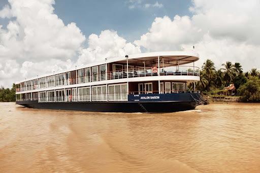 Avalon-Saigon-Exterior-Grant-Sweetwood.jpg - Explore the Mekong Delta on Avalon Saigon from Avalon Waterways.