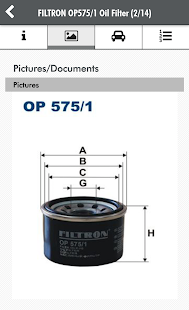 FILTRON Catalogue- screenshot thumbnail