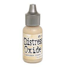 Tim Holtz Distress Oxide Ink Reinker 14ml - Antique Linen