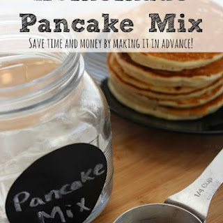 How To Make Your Own Homemade Pancake Mix