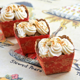 Spiced Persimmon Cakes
