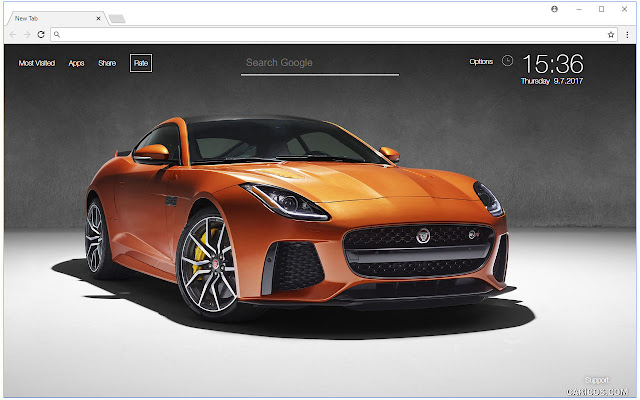 Jaguar Cars Wallpapers HD New Tab Themes