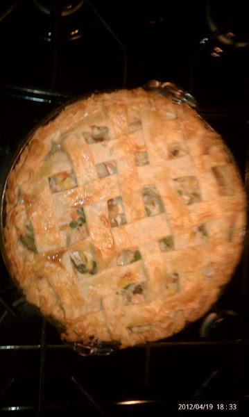 Chicken Pot Pie W/ Pat's Cheese Crust Recipe