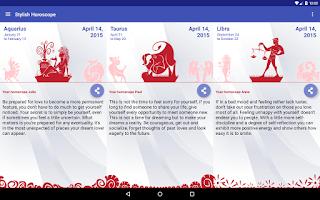 Screenshot of Daily Horoscope / Stylish App