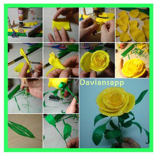 Simple Paper Flower Tutorials