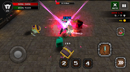 Screenshot 4 Pixel Blade - Season 2 5.7 APK MOD