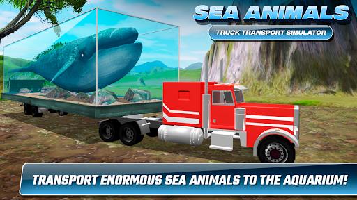 Sea Animals Truck Transport Simulator 1.0 screenshots 4