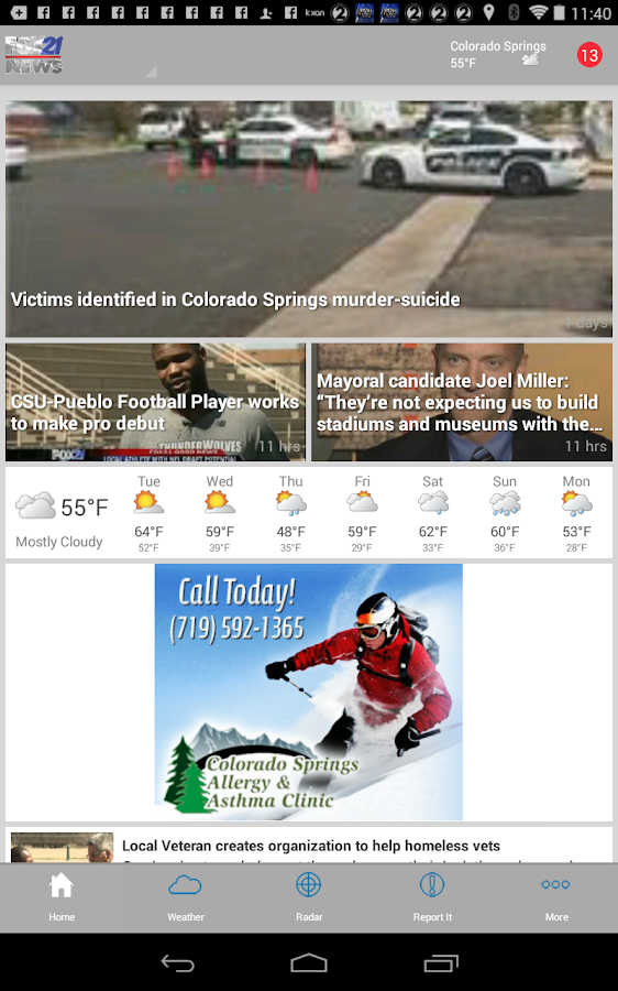 FOX21 News   KXRM - screenshot