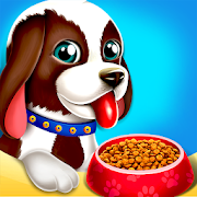 Cute Puppy Pet Care & Dress Up Game