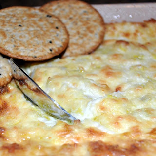 Artichoke and Crab Dip