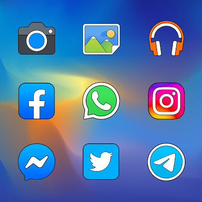 Pixel Limitless - Icon Pack Screenshot Image