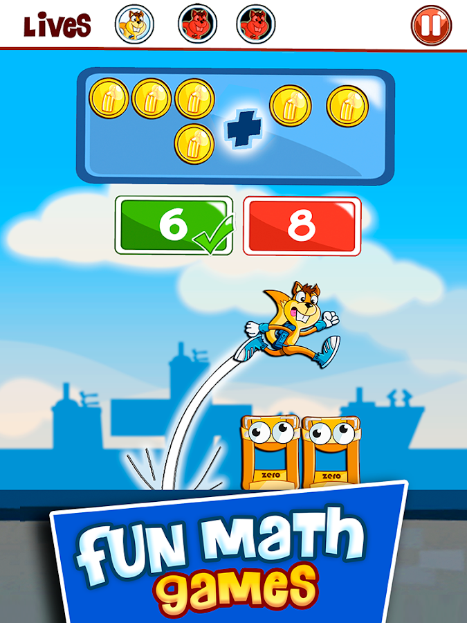 Math Games for kids: Addition Subtraction Numbers- screenshot