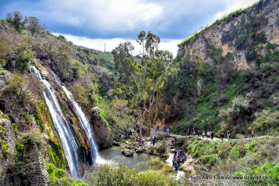 Водопад в Галилее.